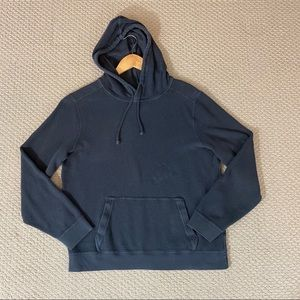 EUC Black Thermal Abercrombie & Fitch Hoodie